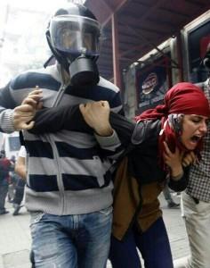 Gezi park, soffocata