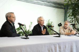 Enrico Mentana, don Vinicio Albanesi, Andreea Pellizzari