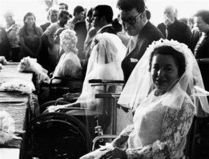 i primi sposi nella Comunità di Capodarco